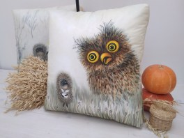 lamp-pillow-hedgehog-batik-handmade