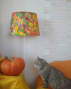 lampshade_batik_art_silk_autumn